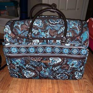 "Vera Bradley Rolling ""work"" bag"